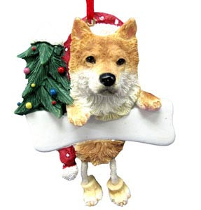 Shiba Inu Christmas Tree Ornament - Personalize