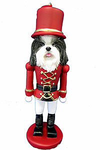 Shih Tzu Ornament Nutcracker