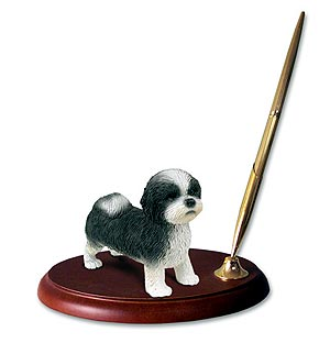Shih Tzu Pen Holder