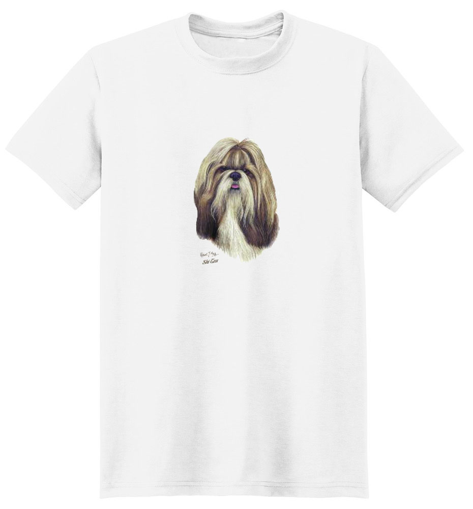 Shih Tzu T Shirt Robert May Collection