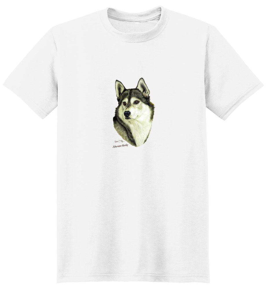 Siberian Husky Shirt Robert May Collection