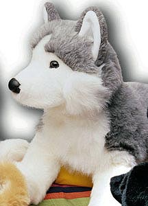 Siberian Husky Stuffed Animal