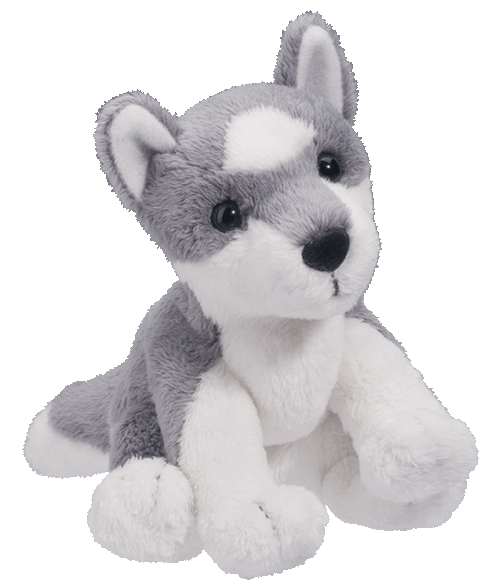 Sierra Siberian Husky 5� Stuffed Plush Animal