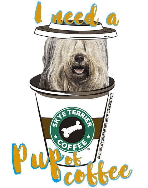 Skye Terrier T Shirt - Coffee Mug