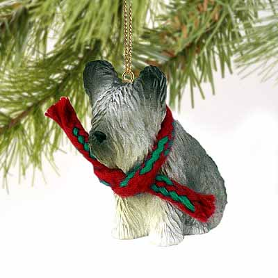 Skye Terrier Tiny One Christmas Ornament