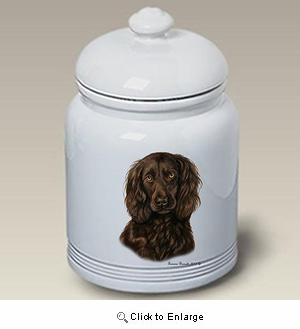 Boykin Spaniel Treat Jar