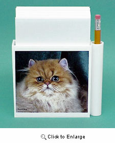 Persian Cat Hold-a-Note
