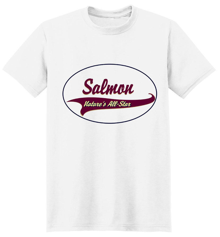 Salmon T-Shirt - Breed of Champions
