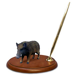 Razorback Pen Holder