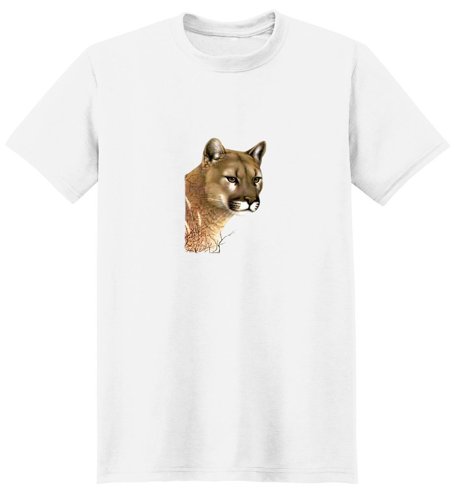Cougar T-Shirt - Colorfully Portrayed