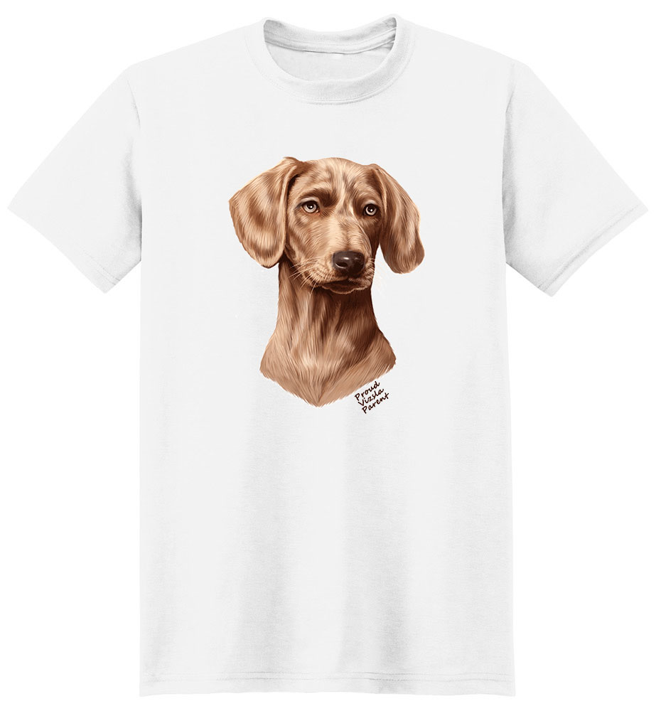 Vizsla T Shirt - Proud Parent