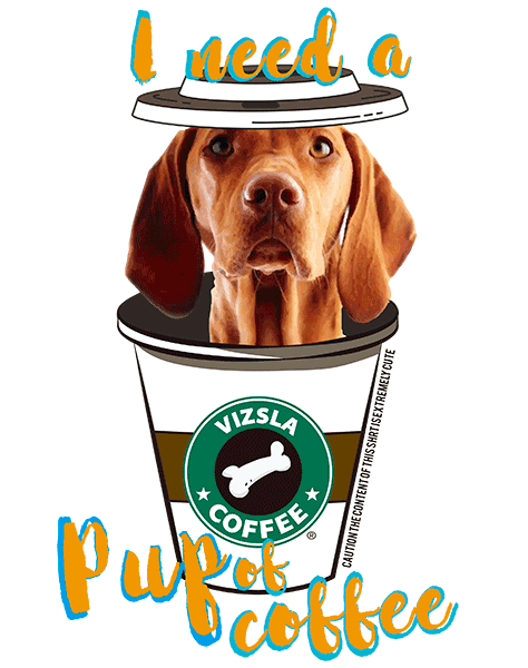 Vizsla T Shirt - Coffee Mug