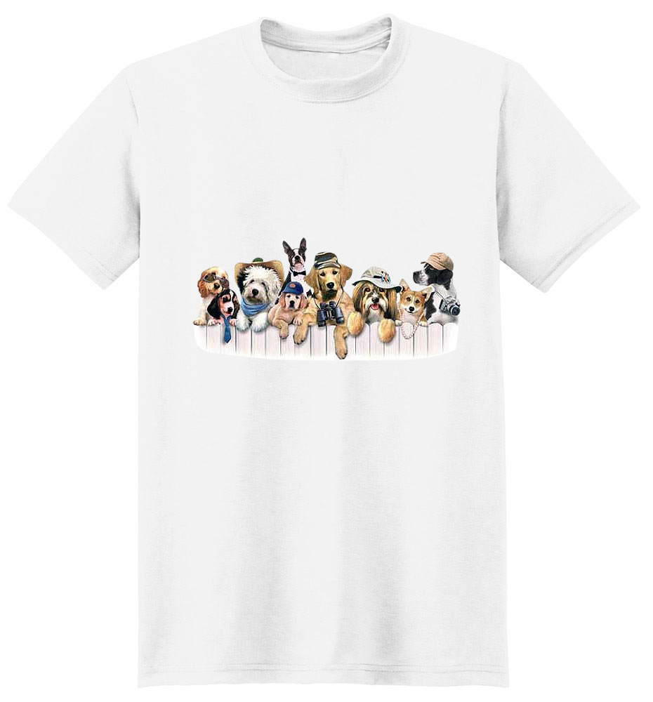 Dog T-Shirt - The Club