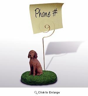 Vizsla Note Holder