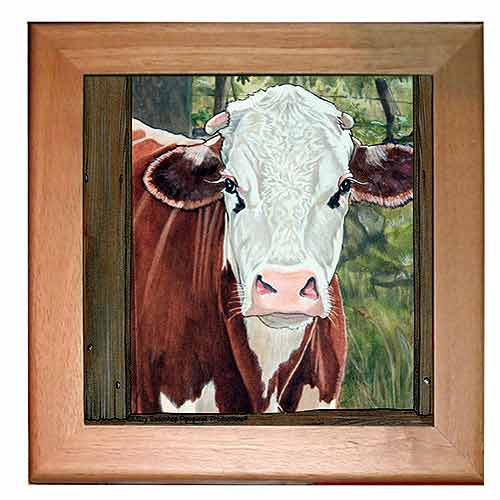 Brown Cow Trivet