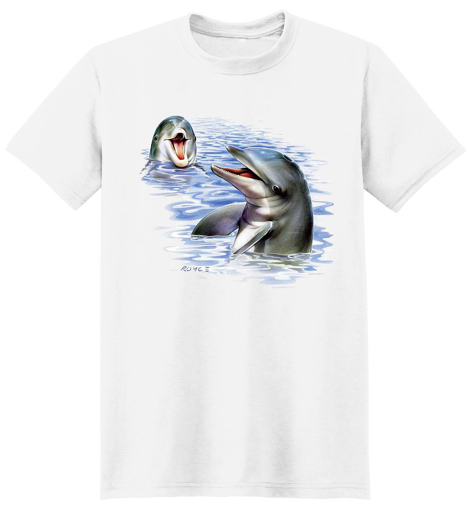 Dolphin T Shirt Talking Dolphins