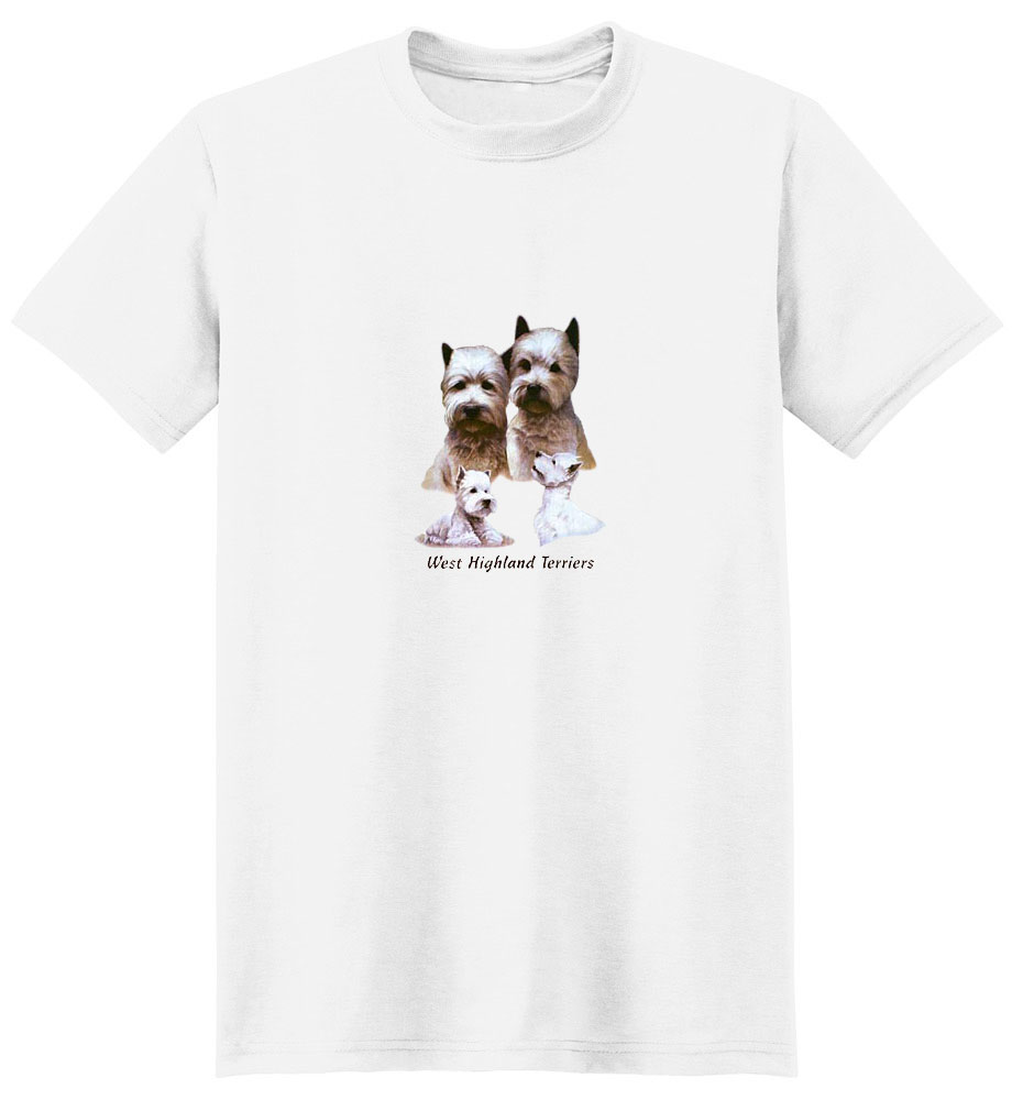 West Highland Terrier T-Shirt - Eye Catching
