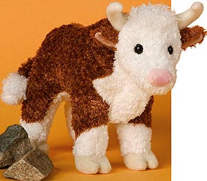 Bull Stuffed Animal