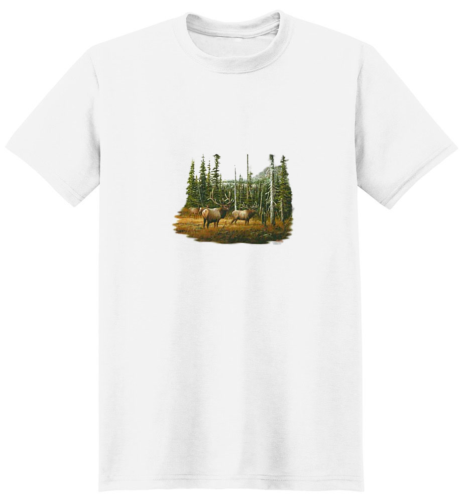 Elk T-Shirt - In the Wild