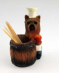Yorkshire Terrier Toothpick Holder
