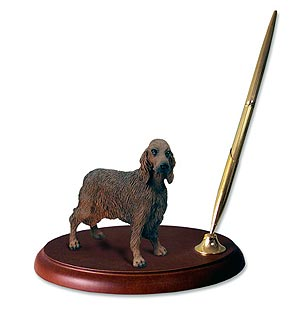 Irish Setter Pen Holder