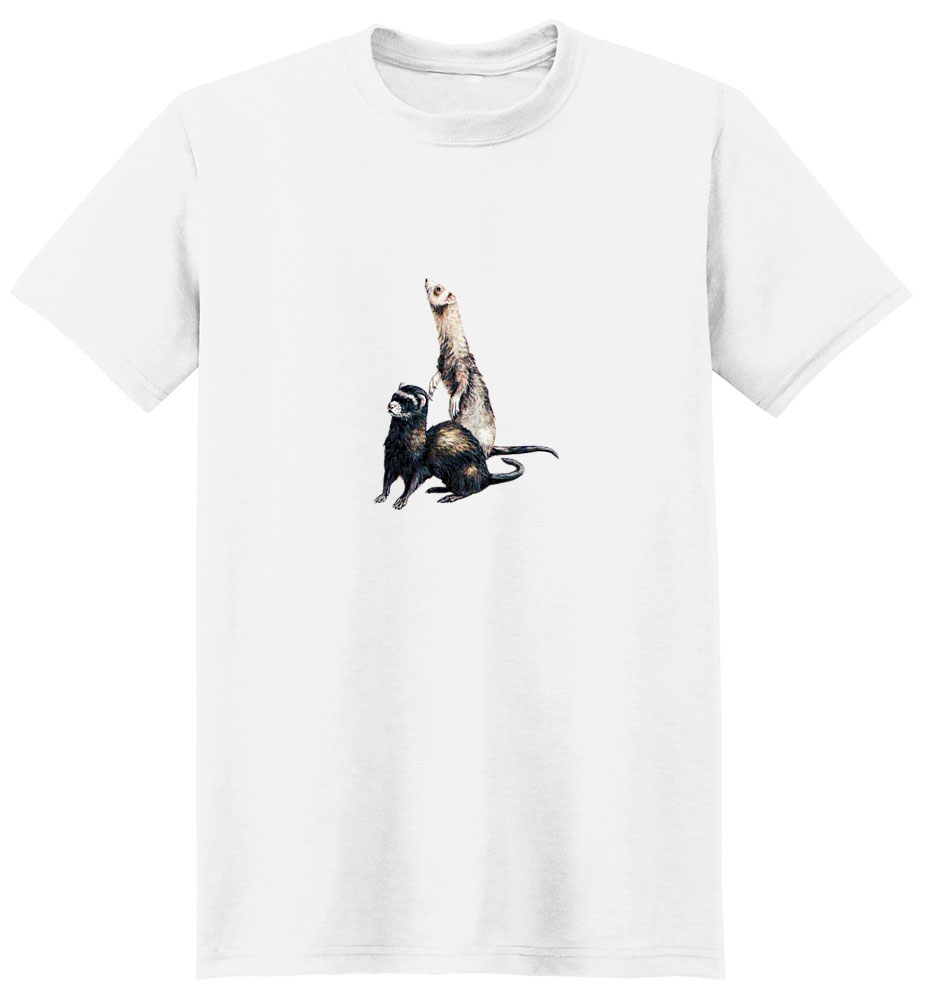 Ferret T-Shirt - Best Friends