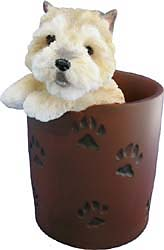 Cairn Terrier Pencil Holder