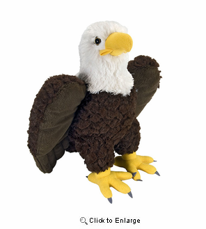 Eagle Cuddlekins Plush Animal 14""