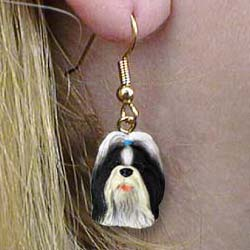Shih Tzu Authentic Earrings