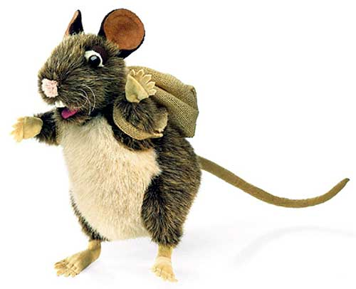 Mouse Puppet Adventurer
