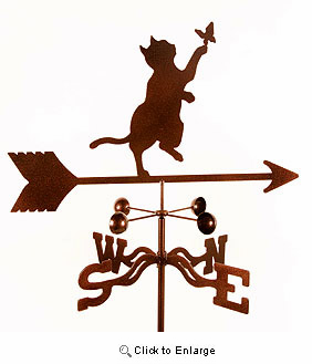 Burmese Cat Weathervane