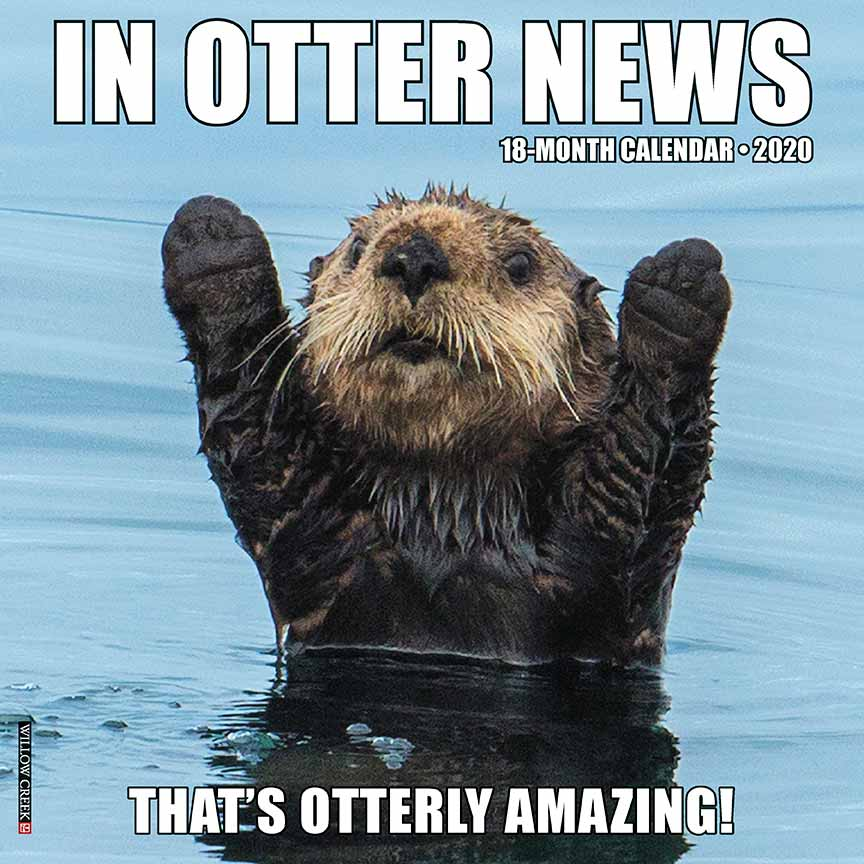 2020 In Otter News Calendar