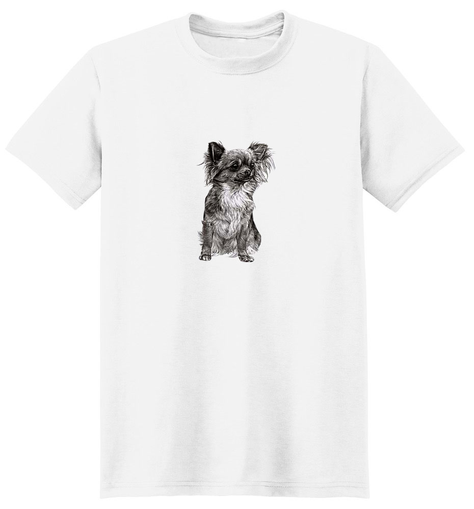 Chihuahua T-Shirt - Eye Catching Detail