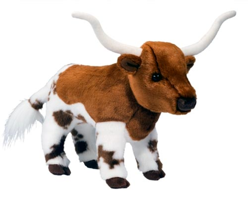 Fitzgerald Longhorn Cow Plush Stuffed Animal 11