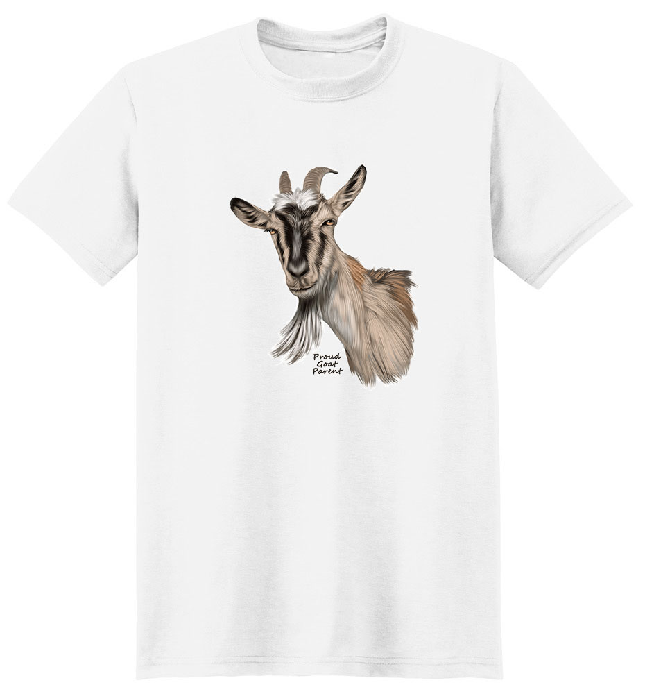 Goat T Shirt - Proud Parent