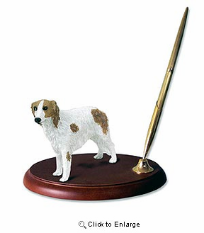 Borzoi Pen Holder