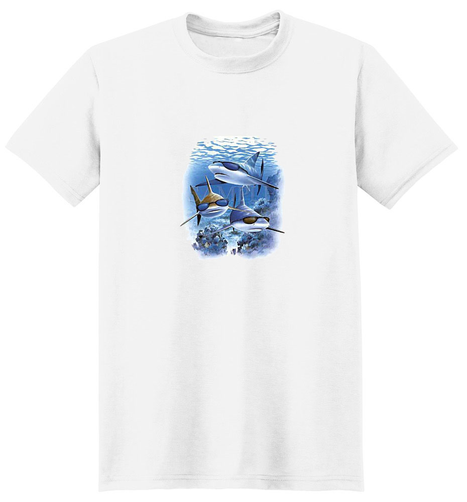 Sharks T- Shirt with Glasses