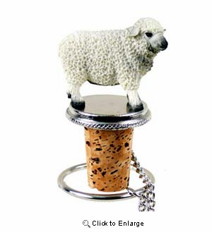 Sheep Bottle Stopper