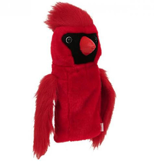 Cardinal Plush   Golf Headcover