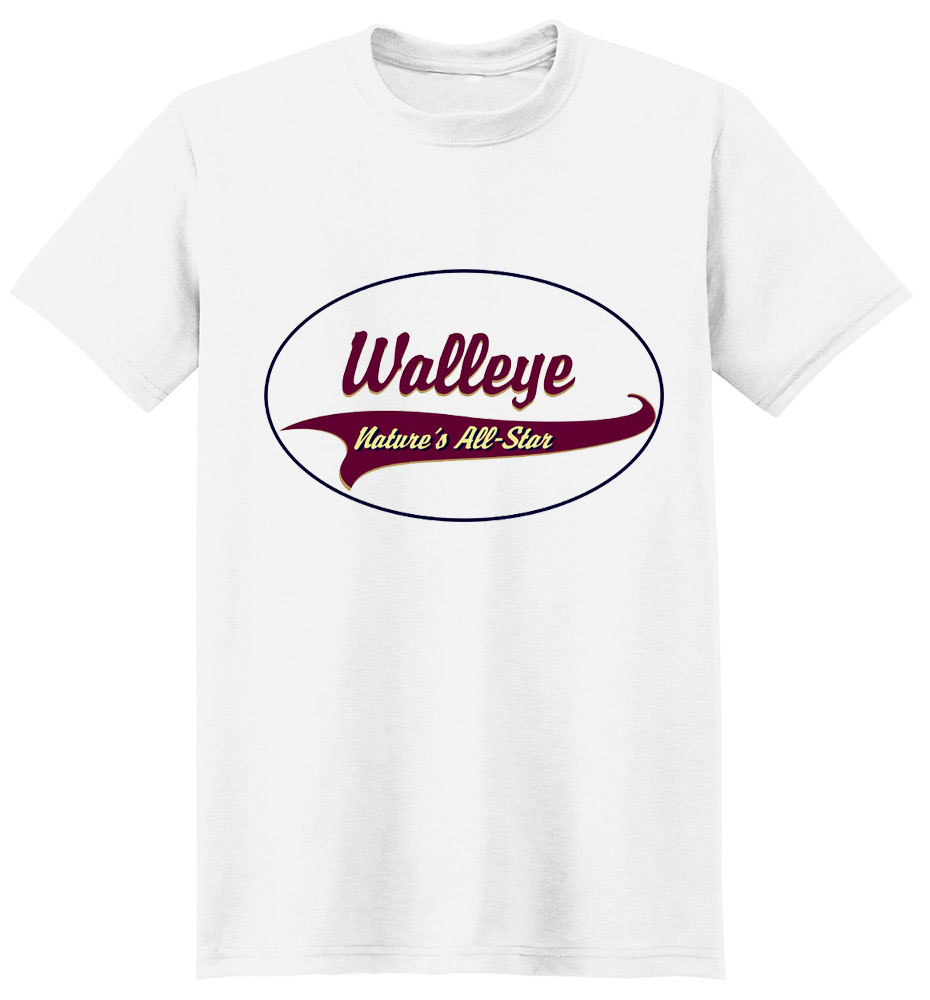 Walleye T-Shirt - Breed of Champions