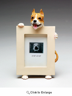 Pit Bull Terrier Picture Frame