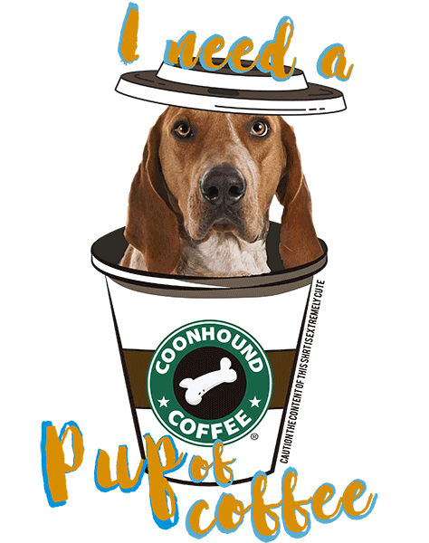 Coonhound T Shirt - Coffee Mug