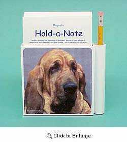 Bloodhound Hold-a-Note