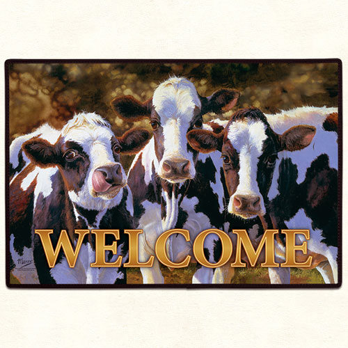Cow Floormat
