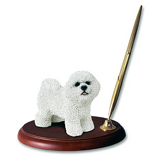 Bichon Frise Pen Holder