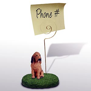 Bloodhound Note Holder