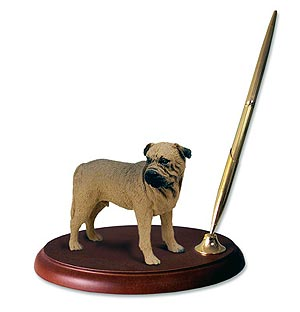 Bullmastiff Pen Holder