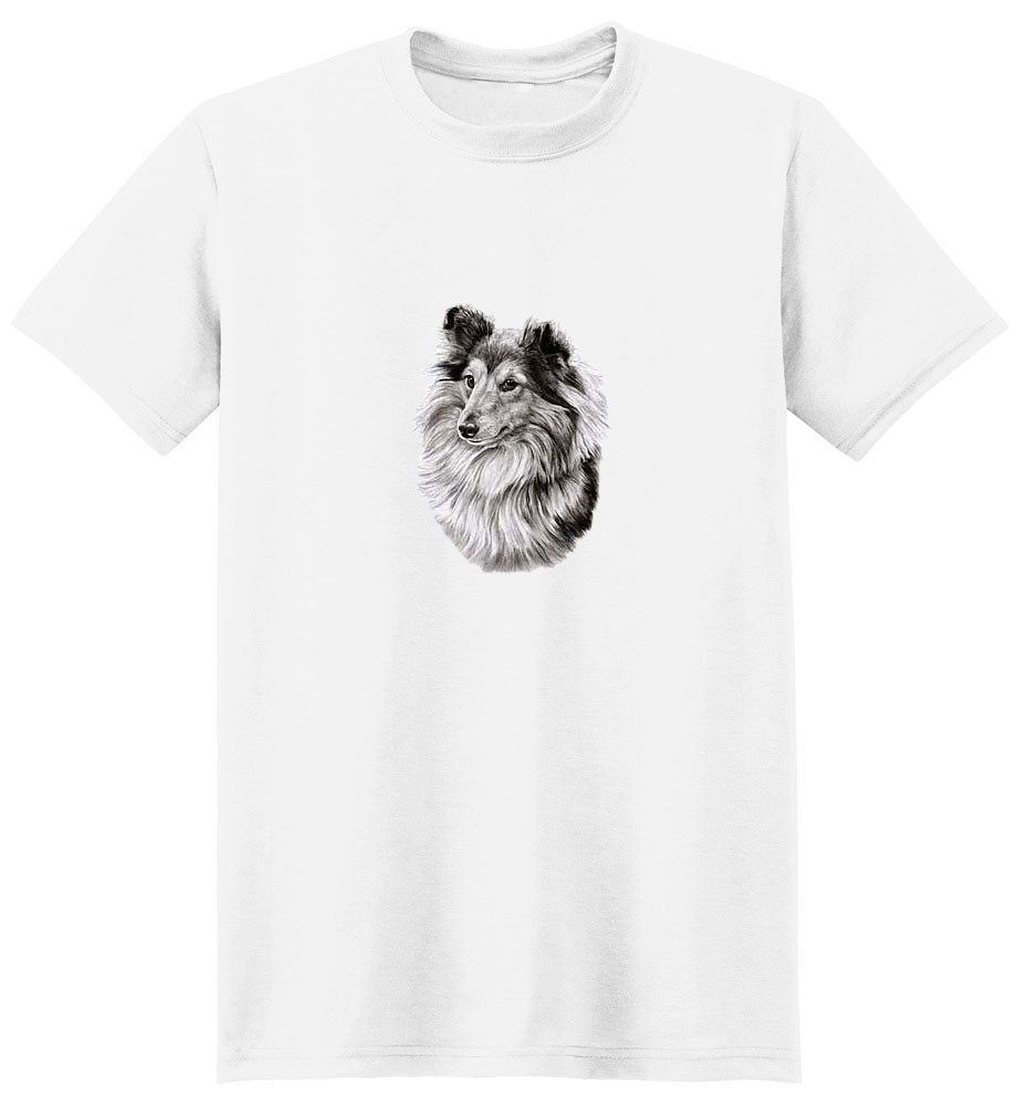 Collie T-Shirt - Eye Catching Detail