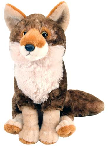 Curious Coyote Plush Stuffed Animal 12