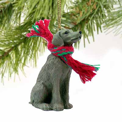 Weimaraner Tiny One Christmas Ornament